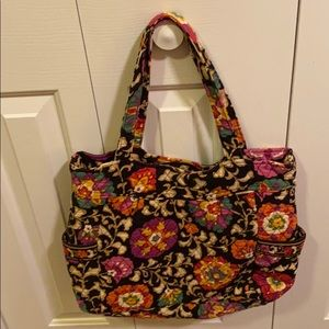 Large Vera bradley tote! Beautiful bag!